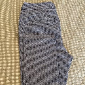 Patterned Work Pants/Trousers